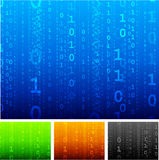 Binary code background Stock Photography