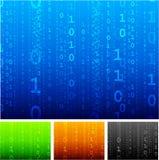 Binary code background Stock Photography