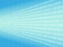 Binary code background Royalty Free Stock Photography