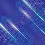 Binary code background abstract illustration Stock Images
