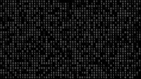 Binary Code Background royalty free illustration