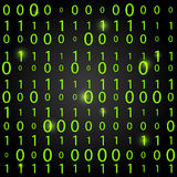 Binary code background. Concept of information technologies Royalty Free Stock Photography