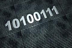 Binary Code. Background. 3D Illustration Stock Photos