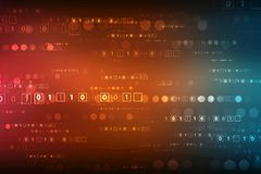 Binary Code Background, Digital Abstract technology background. Cyber abstract background stock photos