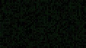 Binary Code Background royalty free illustration
