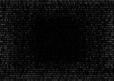 Binary Code Background Royalty Free Stock Photos