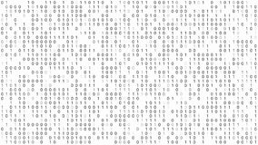 Binary Code Background vector illustration