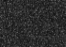 Binary Code Background. Background with white rectangles plates screen , vector background Royalty Free Stock Photo