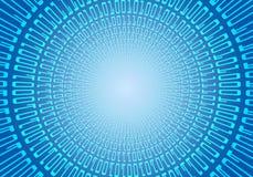 Binary code big bang. Binary code blue energy (Big bang Royalty Free Stock Photo