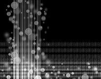 Binary code. On black background Royalty Free Illustration