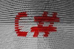 Binary code C# Stock Photo