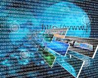 Binary code Stock Photography