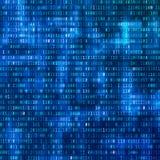 binary code computer Άποψη ψηφιακών στοιχείων Σχέδιο ανασκόπησης τεχνολογίας δυαδικό ρεύμα στοιχείων επίσης corel σύρετε το διάνυ Απεικόνιση αποθεμάτων