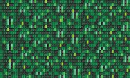 Binary code computer matrix background art design. Digits on screen. Abstract concept graphic data, technology, decryption,. Algorithm, encryption element royalty free illustration