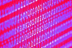Binary code concept... Royalty Free Stock Images