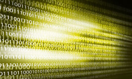 Binary code Stock Image