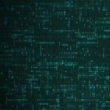 Binary code dark blue background. Programming code. Dark net concept. Digital web technology. Dark colors - matrix stock illustration
