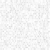 Binary code digital technology background. Computer data by 0 and 1. Algorithm Binary Data Code, Decryption and Encoding. Vector. Illustration stock illustration