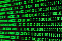 Binary code stock images