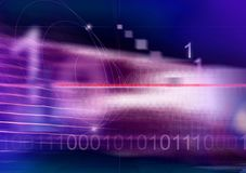 Binary code II Stock Photo
