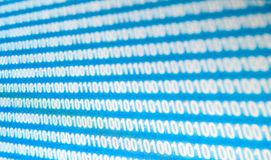 Binary code Royalty Free Stock Photos
