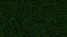 Binary Code Listing stock video footage