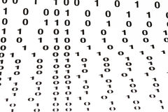 Binary code  pattern Royalty Free Stock Photo