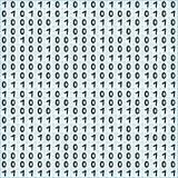 Binary code pattern Stock Photo