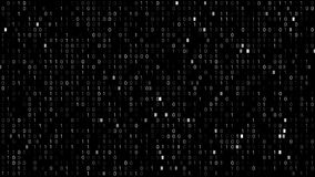 Binary Code Screen stock illustration