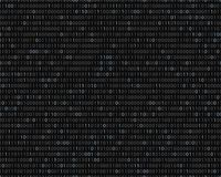 Binary code. Seamless vector pattern. Dark technological backgro. Binary code of zeros and ones. Abstract computer background. Seamless vector pattern royalty free illustration