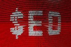 Binary code seo Royalty Free Stock Image