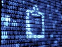 Binary Code Technology Royalty Free Stock Photos
