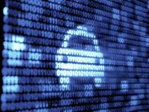 Binary Code Technology Stock Image