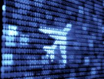 Binary Code Technology Stock Images