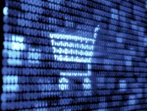 Binary Code Technology Stock Image