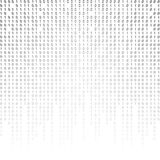 Binary code on a white background. Stock Image
