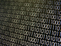 Binary Codes Stock Photo