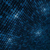 Binary computer code background Royalty Free Stock Image
