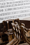 Binary data Royalty Free Stock Images
