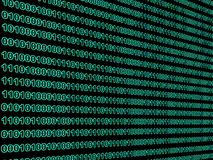 Binary Data Stock Image
