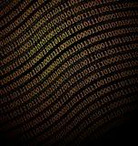 Binary Data background Stock Photography