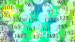 Binary data stock video footage