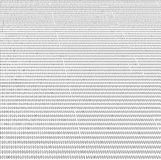 Binary database records, heap of many numbers Stock Images