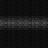 Binary digital background Stock Photos