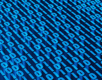 Binary digital code abstract background. Binary digital code abstract background, technology and digital concept Royalty Free Stock Images