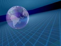 Binary Earth Royalty Free Stock Image