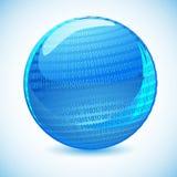 Binary Globe Royalty Free Stock Photography