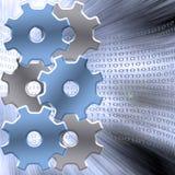 Binary Machine Royalty Free Stock Photo