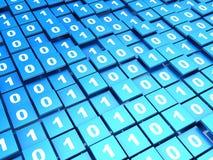 Binary matrix Royalty Free Stock Photography