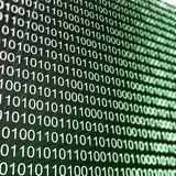 Binary matrix array Royalty Free Stock Photo